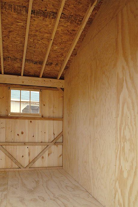 Maryland Amish Horse Barns Shed Row Barns Run In Sheds