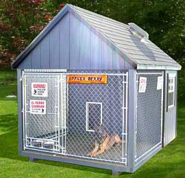 Maryland Kennels And Dog Houses By The Amish Sold And Delivered To