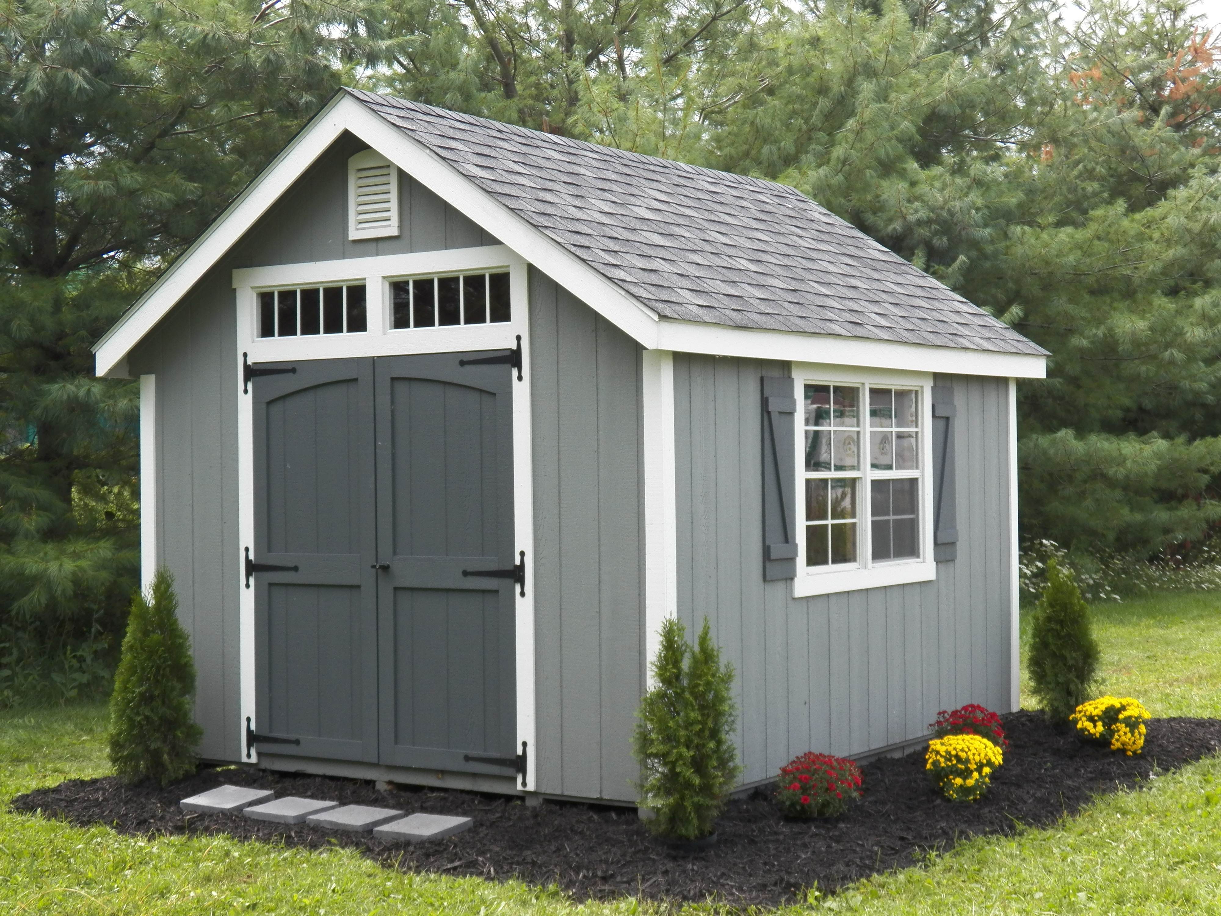 Portable Garages For Sale >> Amish Custom Sheds and Gazebos north of Montgomery County, MD